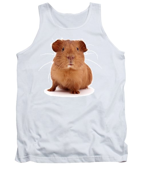 Red Guinea Pig Tank Top