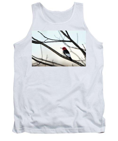 Red-headed Woodpecker Tank Top