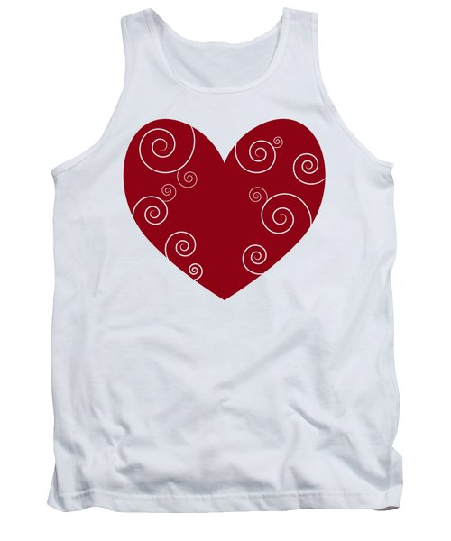 Red Heart Tank Top