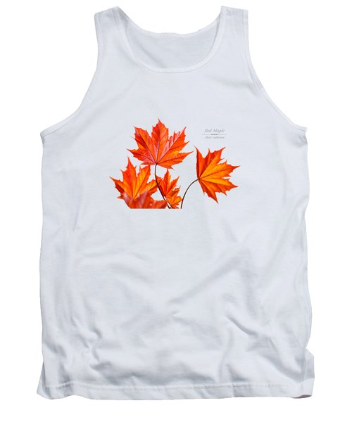 Red Maple Tank Top