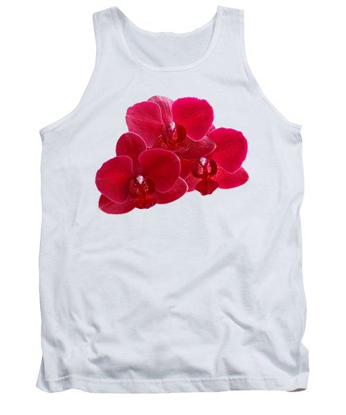 Red Orchid Trio Tank Top