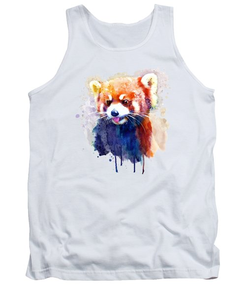 Red Panda Portrait Tank Top