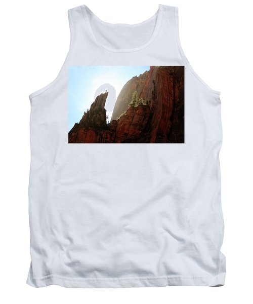 Red Rock At Zion Tank Top