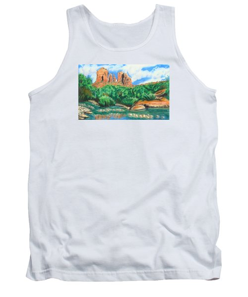 Red Rock Crossing Tank Top