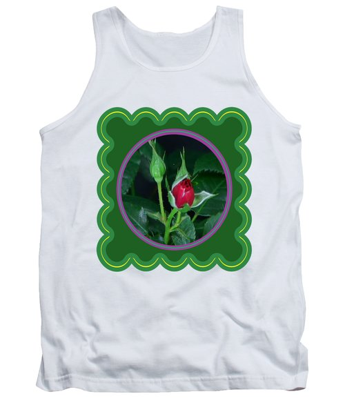 Red Rose Bud Flower Floral Posters Photography And Graphic Fusion Art Navinjoshi Fineartamerica Pixe Tank Top