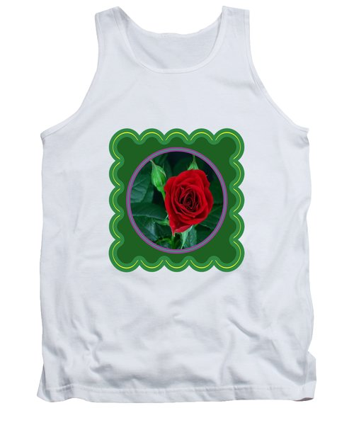 Red Rose Flower Floral Posters Photography And Graphic Fusion Art Navinjoshi Fineartamerica Pixels Tank Top