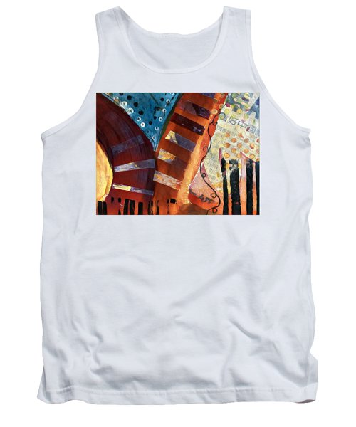 Red Series 4 Tank Top