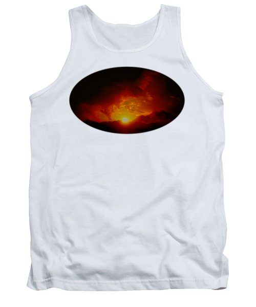 Red Sunset In Africa Tank Top
