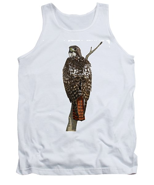 Red-tailed Hawk - Color Tank Top