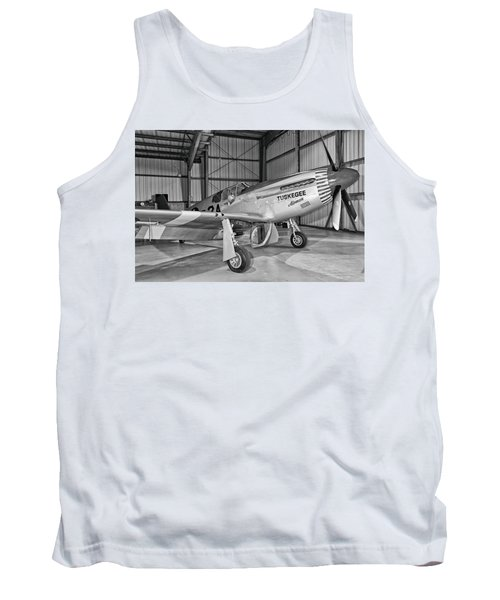 Red Tails Mustang Tank Top