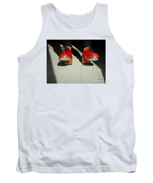 Red Tap Shoes Tank Top