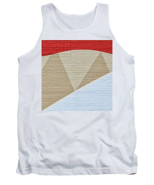 Tank Top featuring the photograph U-haul Art by Eric Lake