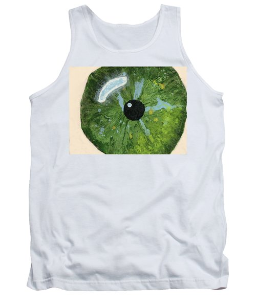Reflected In The Eye Of A Child Never Born Tank Top