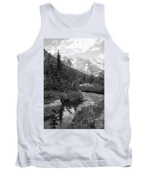 Reflected Pine Tank Top