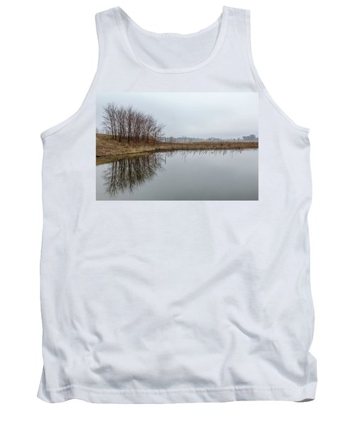 Reflected Trees Tank Top