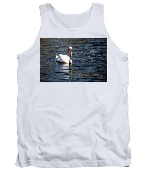 Reflecting Swan Tank Top