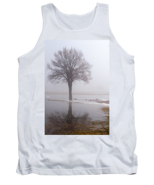 Reflecting Tree Tank Top