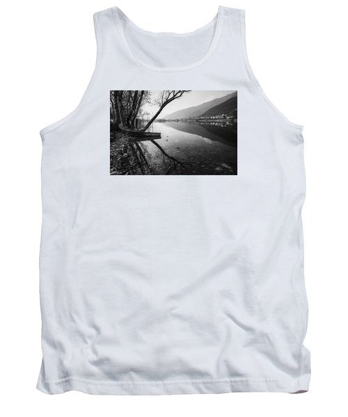 Tank Top featuring the photograph Reflecting by Yuri Santin