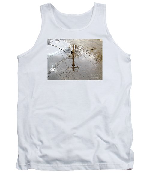 Puddle Reflections  Tank Top by Sandra Church