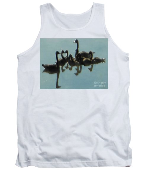 Reflection Of Geese Tank Top