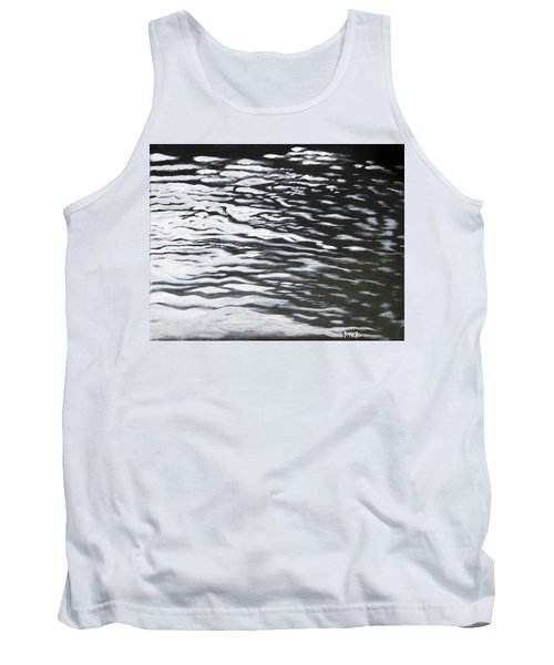 Tank Top featuring the painting Reflections by Antonio Romero
