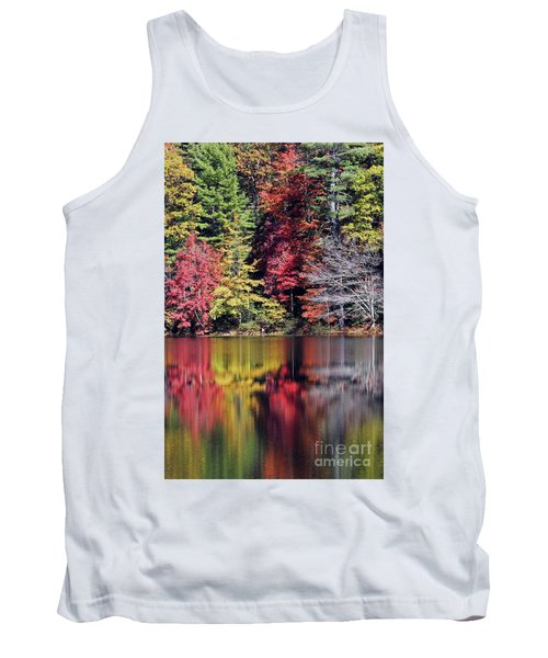 Reflections Of A Bare Tree Tank Top