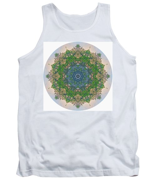 Reflections Of Life Mandala Tank Top