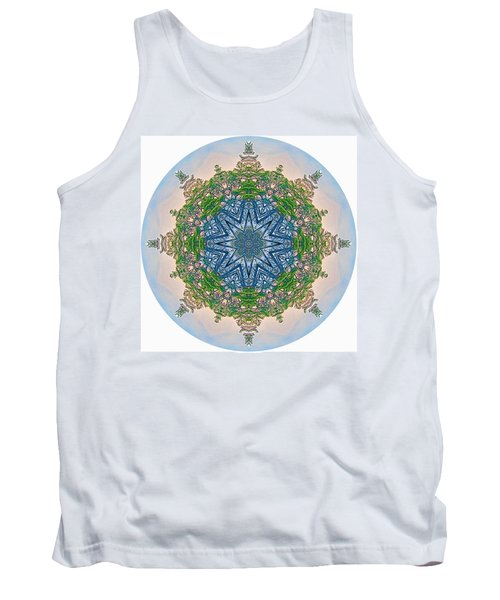 Reflections Of Life Mandala 2 Tank Top