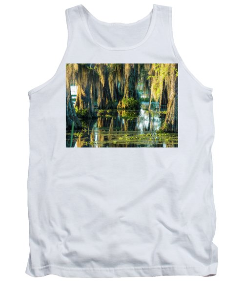 Reflections Of The Times Tank Top by Kimo Fernandez