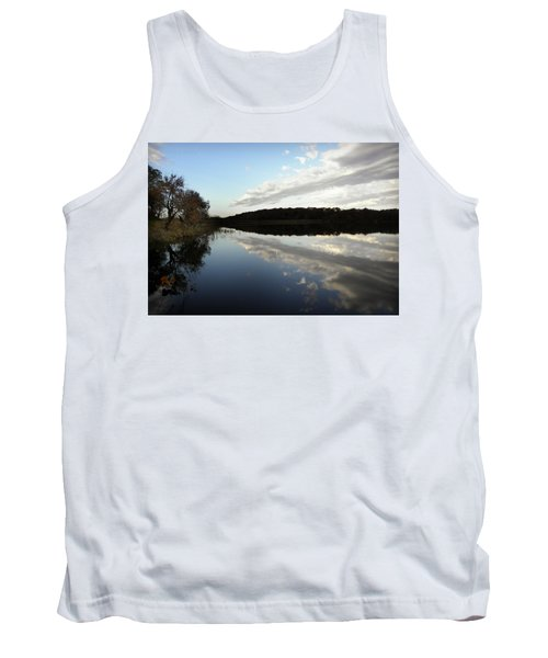 Tank Top featuring the photograph Reflections On The Lake by Chris Berry