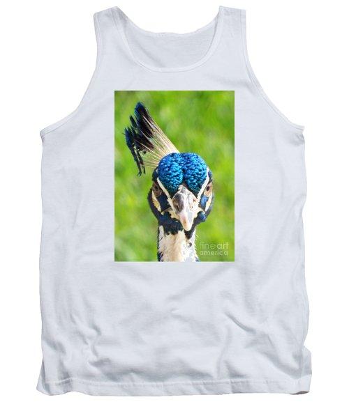 Regal Peacock Tank Top