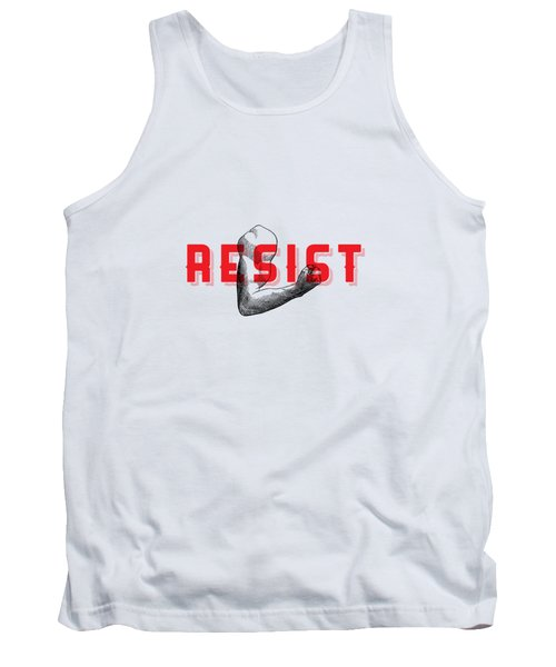Tank Top featuring the photograph Reisist Arm Tee by Edward Fielding
