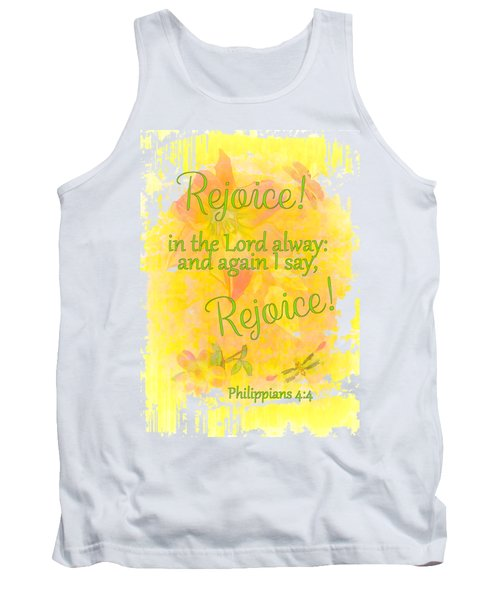 Rejoice Tank Top by Larry Bishop