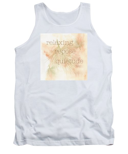 Tank Top featuring the painting Relaxing by Kandy Hurley