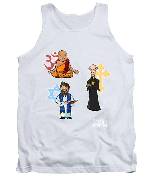 Religious Icons Tank Top