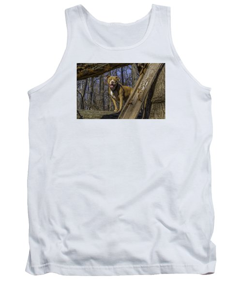 Remy In Tree Oil Paint More Pop Tank Top
