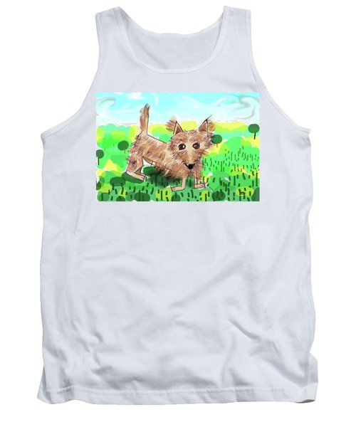 Remy, Laird Of The Cairn Tank Top