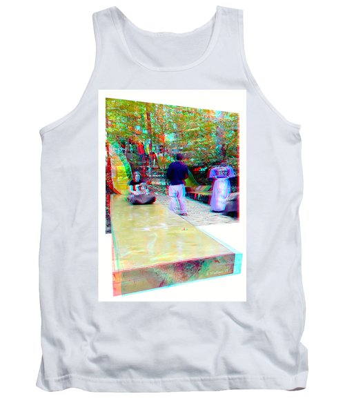 Tank Top featuring the photograph Renaissance Slide - Red-cyan 3d Glasses Required by Brian Wallace