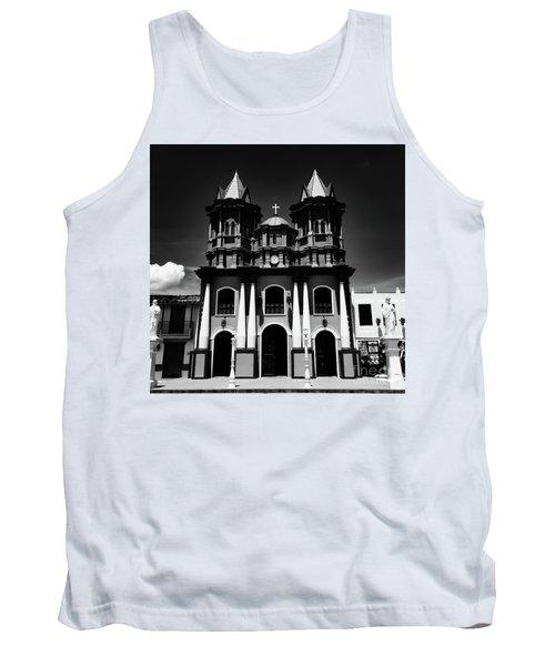 Replica Church In El Penol Tank Top