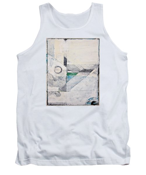 Tank Top featuring the painting Reservoir  by Cliff Spohn