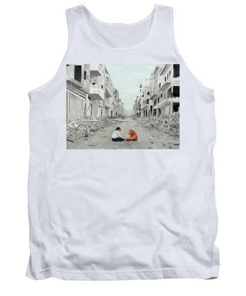 Tank Top featuring the painting Resilience by Kevin Daly