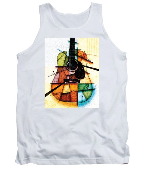 Resonancia En Colores Tank Top