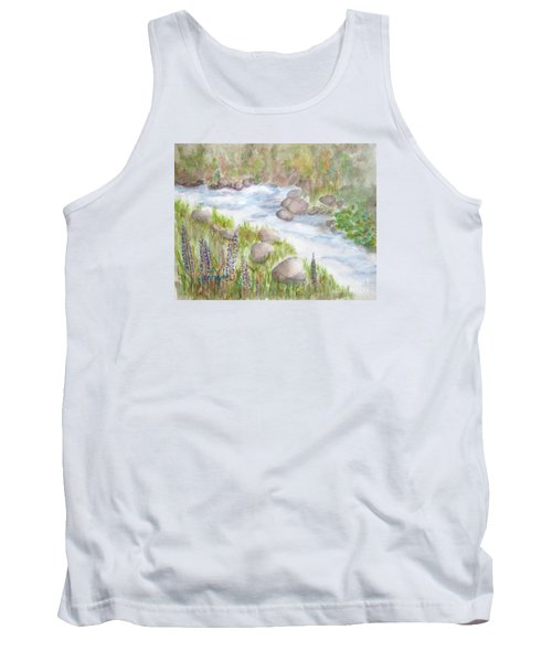 Rest By My Waters Tank Top
