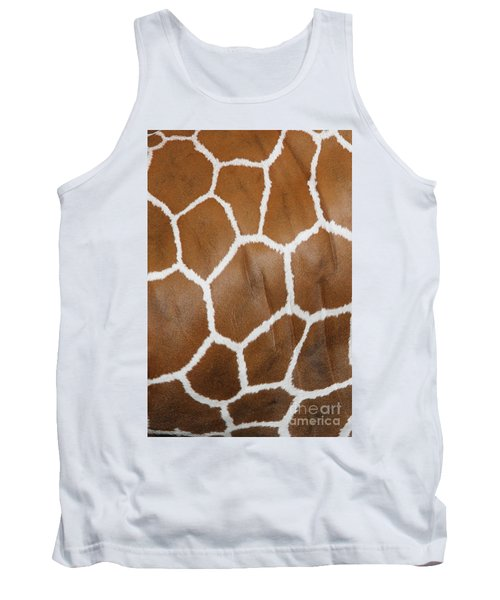 Reticulated Giraffe #2 Tank Top