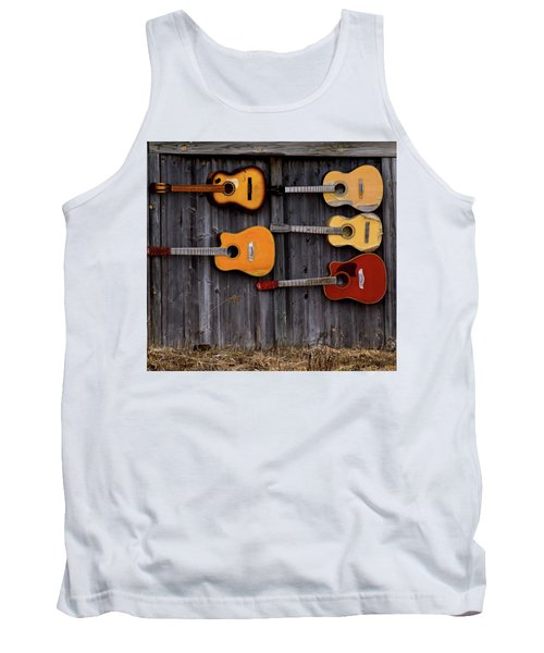 Retired Guitars  Tank Top