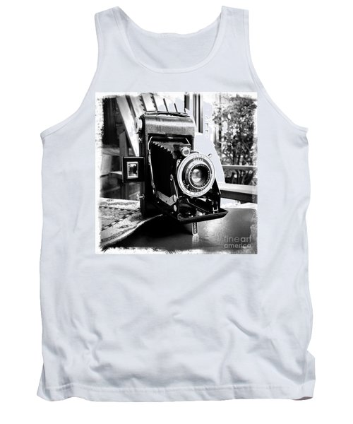 Tank Top featuring the photograph Retro Camera by Daniel Dempster