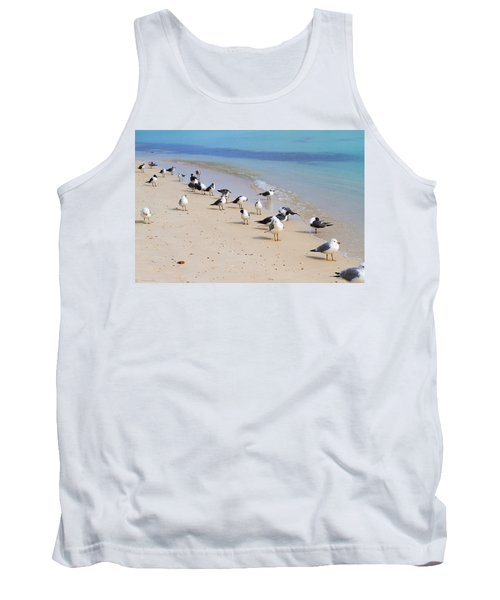 Rhapsody In Seabird Tank Top