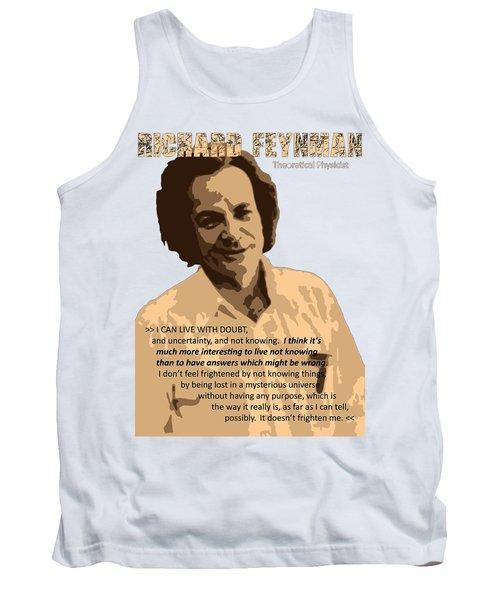 Richard Feynman Tank Top