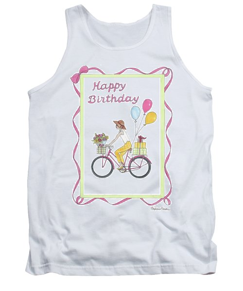Ride In Style - Happy Birthday Tank Top