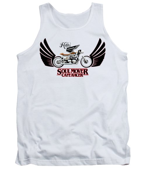 Ride With Passion Cafe Racer Tank Top